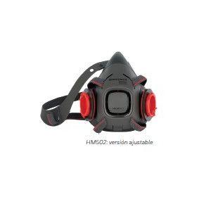 MEDIA MASCARA HM 500 - GASES Y VAPORES HM502BM  FILTRO 1035459